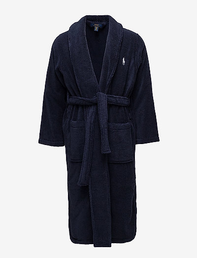 Shawl-Collar Robe - robes - cruise navy