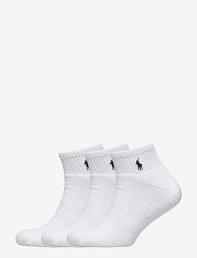 Quarter Sock 3-Pack - ankle socks - white