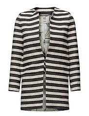 Jacket Stripes Black - BLACK