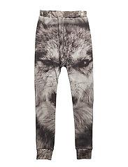 Baggy Leggings Wolf AOP - WOLF