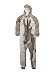 Hoodie Suit Fawn AOP - FAWN
