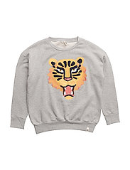 Loose Sweat Tiger EMB - TIGER EMB