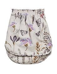 Drop Skirt - WINTER FLOWER