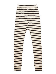 Baggy Leggings Maritime Off White With Navy - OFF WHITE WITH NAVY