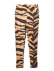 Sunday Pants Brown Tiger AOP - BROWN TIGER