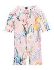 Swim Onepiece Jumpsuit Flower - FLOWER
