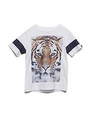 Basic Short Sleeve T-Shirt - TIGER