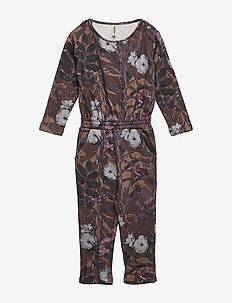 Frey Jumpsuit - FALL FLOWER