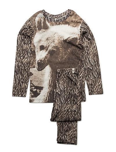 Nightwear Set Bear Cubs AOP - BEAR CUBS