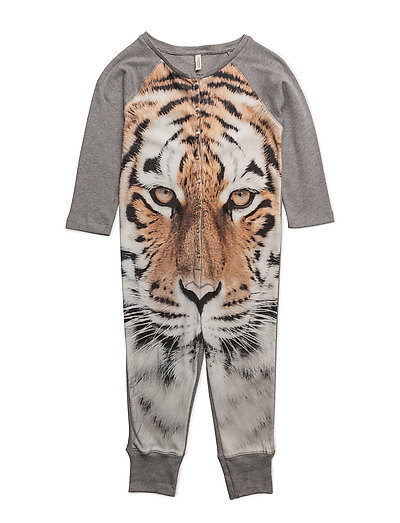 One Piece Brown Tiger AOP - BROWN TIGER