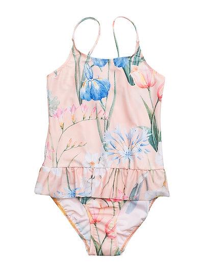 Ruffles Swimsuit Flower - FLOWER