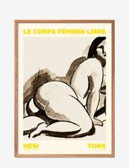 Poster & Frame - feminin-libre-01 - illustrations - multi-colored - 0
