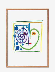 Ceci est mon coeur - affiches - multi-colored