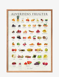 Fruits of the world - affiches - multi-colored