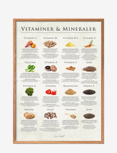 Vitamins of the nature - affiches - multi-colored