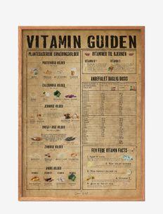 Vitamin guide - affiches - multi-colored