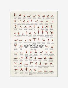 Yoga - affiches - multi-colored