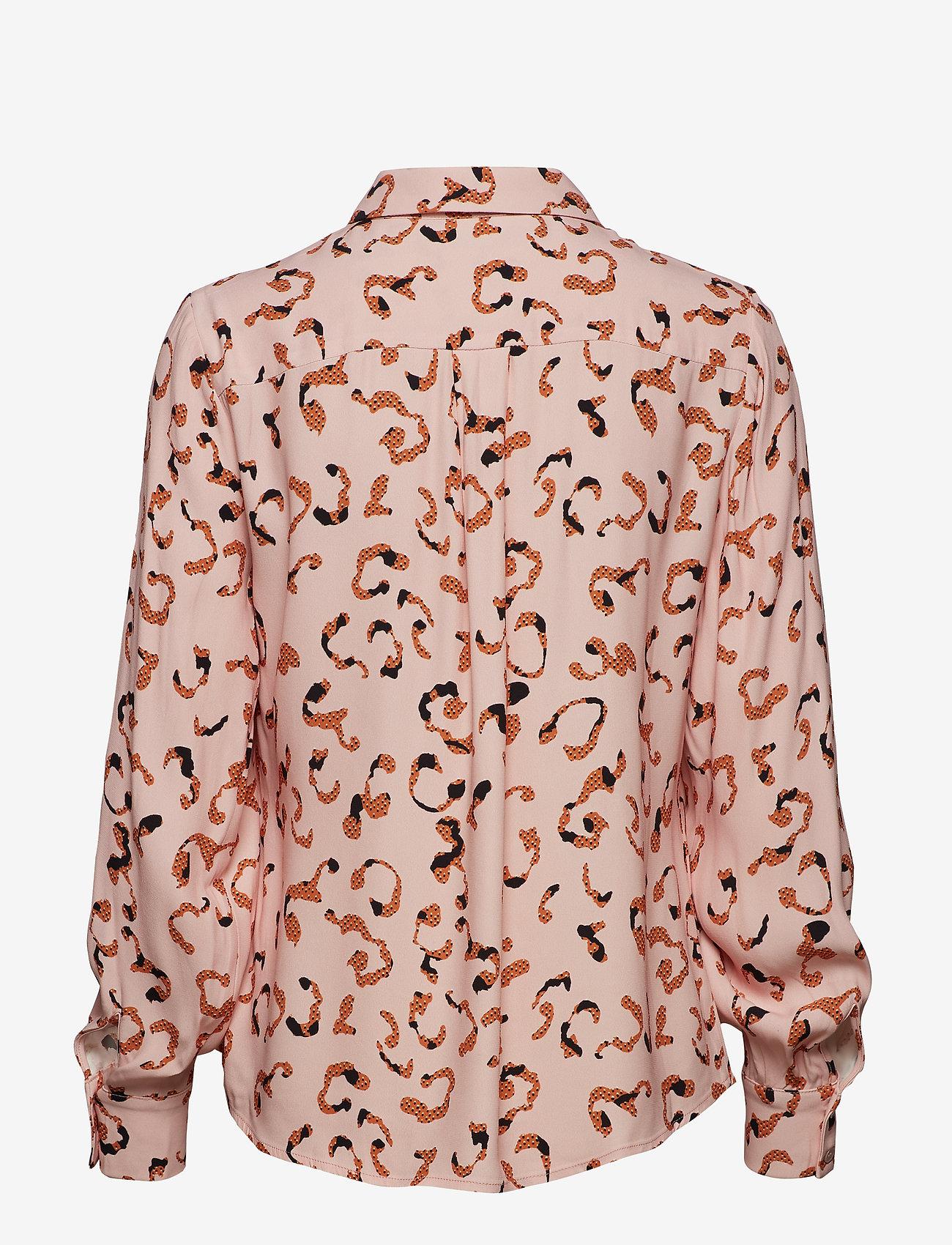 POSTYR - POSLAURA SHIRT - long sleeved blouses - peachskin