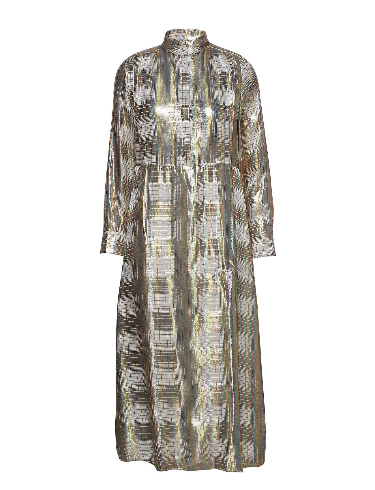 POSTYR POSAVA DRESS - BRIGHT WHITE