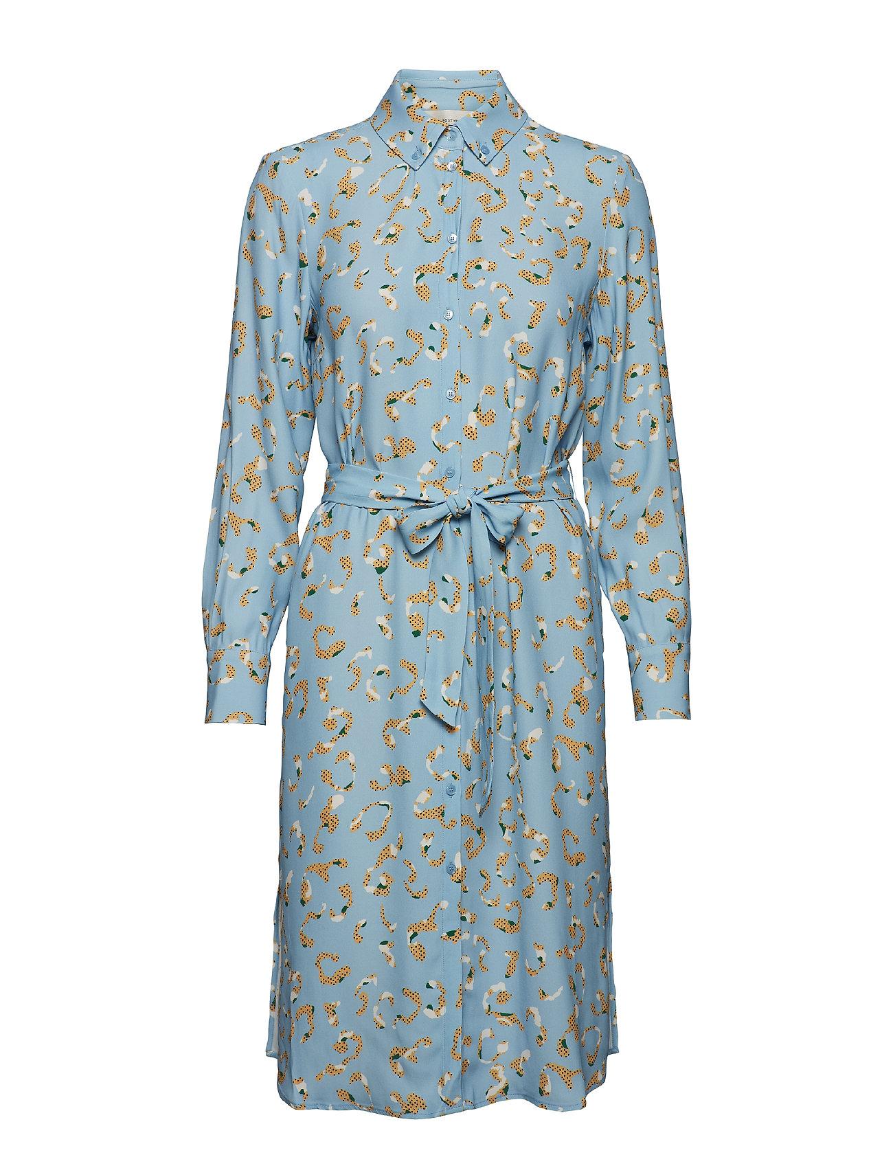 POSTYR POSLAURETTE DRESS - PLACID BLUE