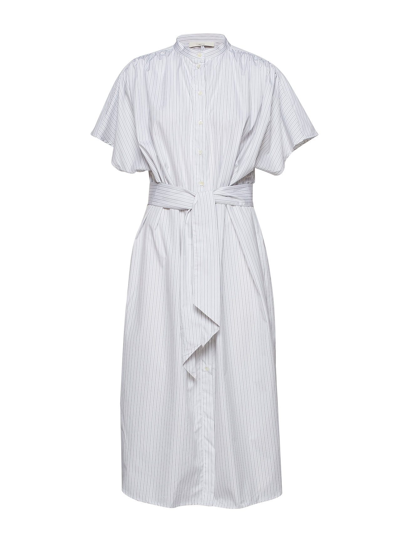 POSTYR POSDISA SHIRT DRESS - BRIGHT WHITE