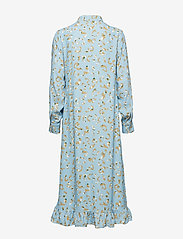 POSTYR - POSLAURETTE LONG DRESS - midi dresses - placid blue - 1