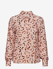 POSTYR - POSLAURA SHIRT - long sleeved blouses - peachskin - 0