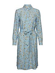 POSLAURETTE DRESS - PLACID BLUE