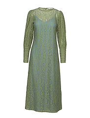 POSALEXANDRA LACE DRESS - HEMLOCK