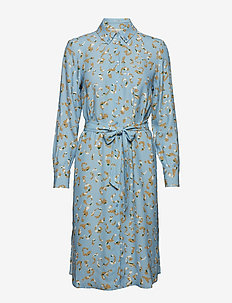 POSLAURETTE DRESS - PLACID BLUE