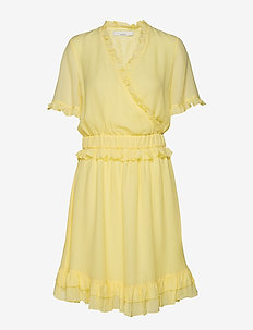 POSESTELLE DRESS - MELLOW YELLOW