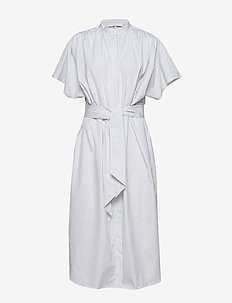 POSDISA SHIRT DRESS - BRIGHT WHITE