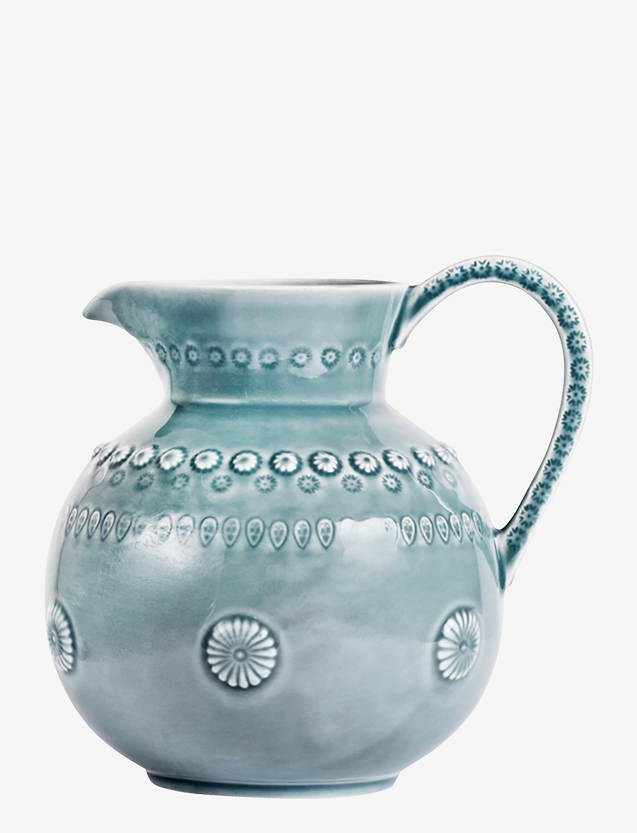 PotteryJo - DAISY Jug Large 1.8L - kannut & karahvit - cement - 0