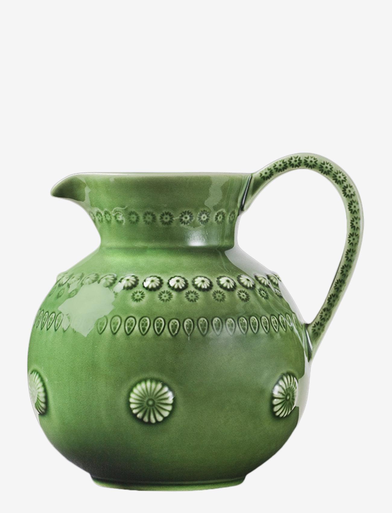 PotteryJo - DAISY Jug Large 1.8L - kannut & karahvit - forest - 0