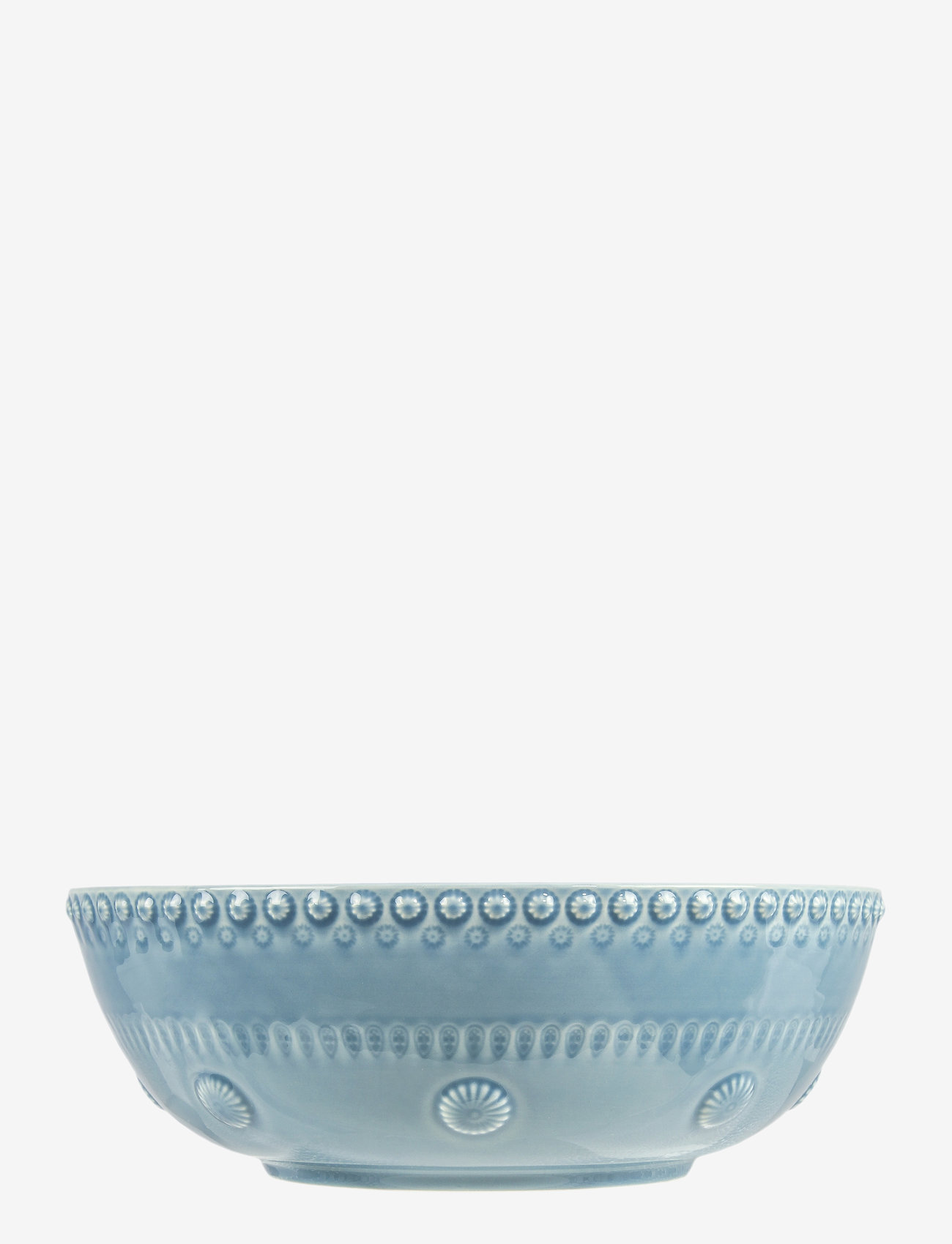 PotteryJo - DAISY Large salad bowl - salaattikulhot - dusty blue - 0