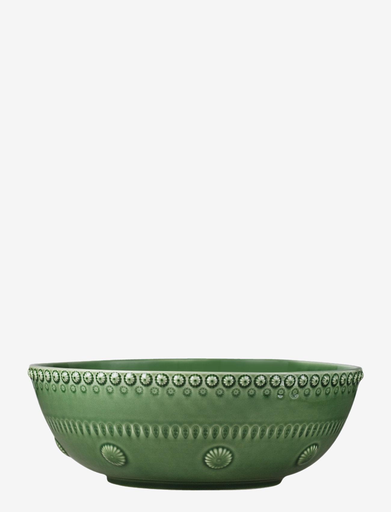 PotteryJo - DAISY Large salad bowl - salaattikulhot - forest - 0