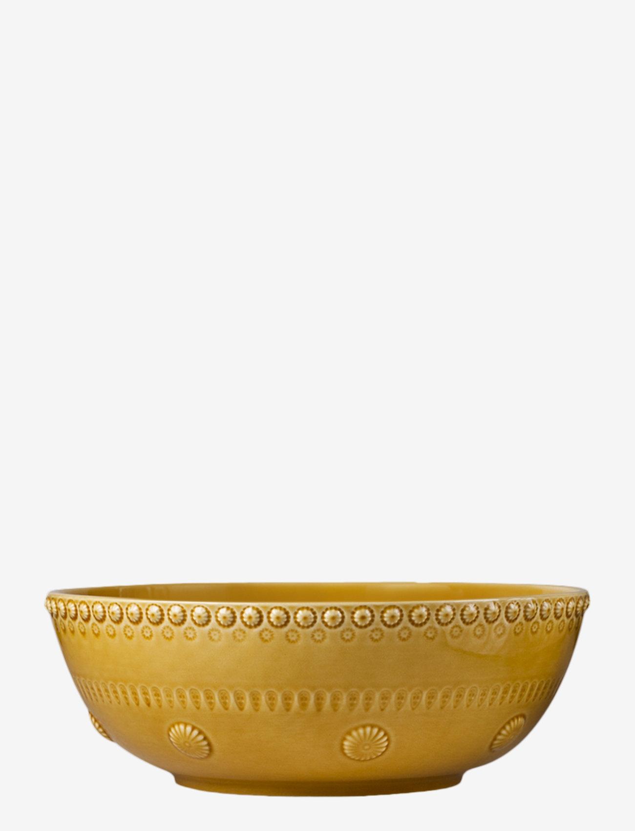 PotteryJo - DAISY Large salad bowl - salaattikulhot - sienna - 0