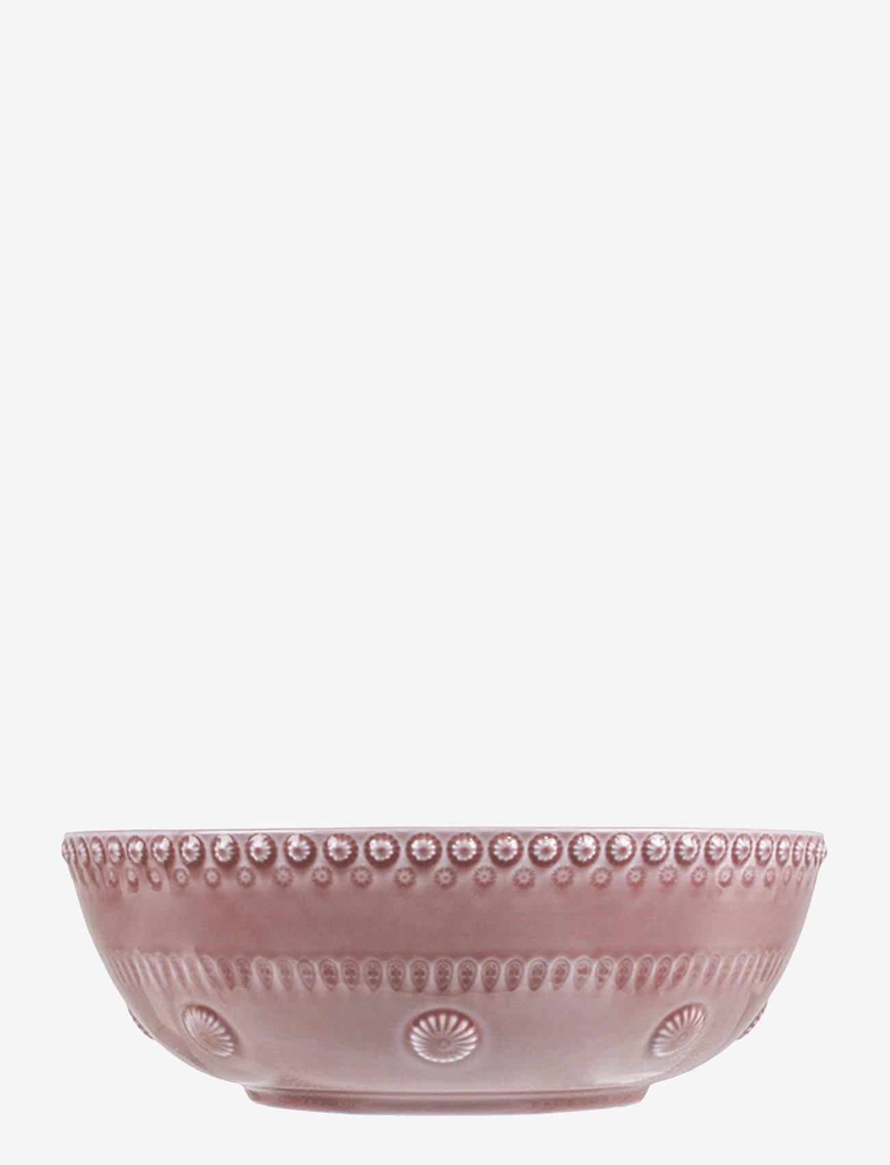 PotteryJo - Daisy Saladsbowl 23 cm - salaattikulhot - rose - 0