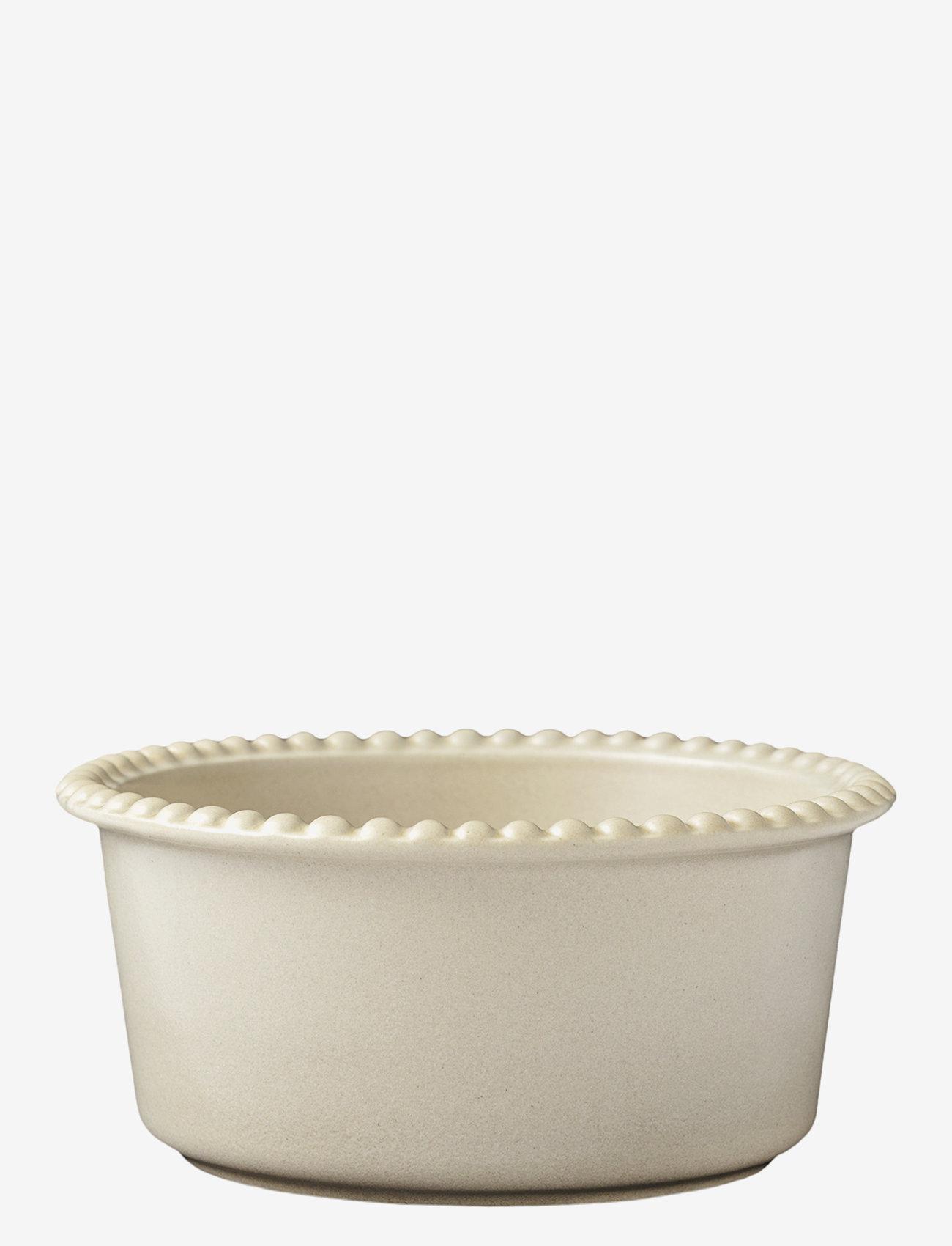 PotteryJo - DARIA 18 cm bowl stoneware - tarjoilukulhot - sand - 0