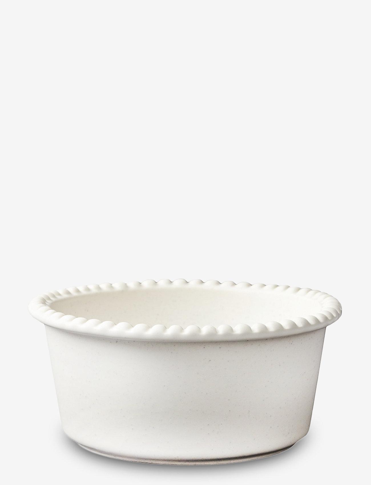 PotteryJo - DARIA bowl 18 cm stoneware - hedelmäkulhot - cotton white - 0