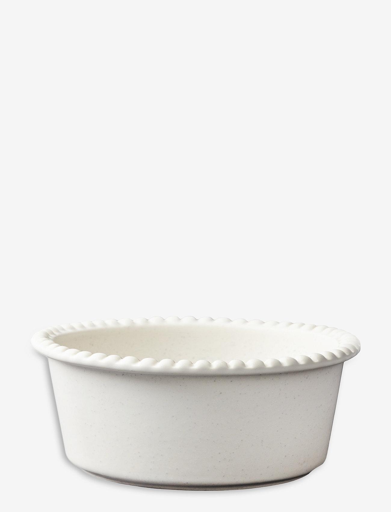 PotteryJo - DARIA bowl 23 cm stoneware - kulhot - cotton white - 0