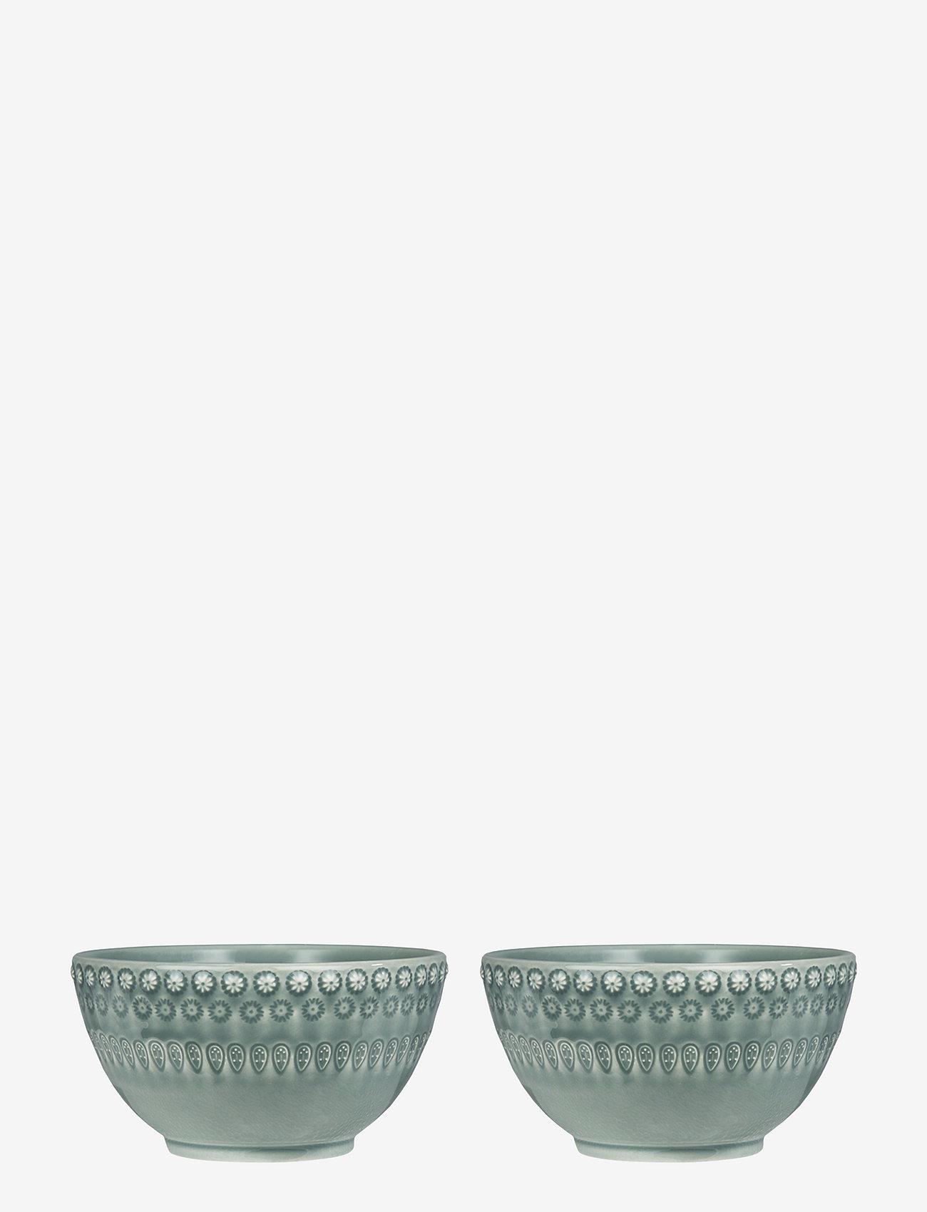 PotteryJo - DAISY Small Bowl 2-PACK - tarjoilukulhot - cement - 0