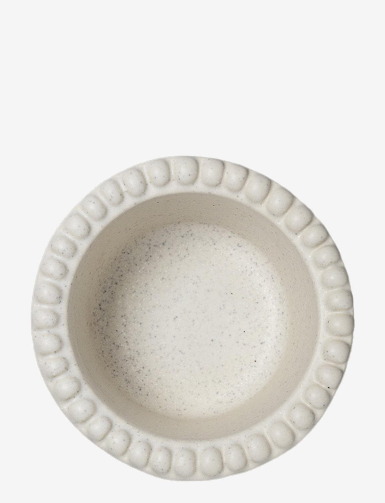 PotteryJo - DARIA bowl 12 cm stoneware 2-pack - aamiaiskulhot - cotton white - 1