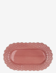 DITSY Oval platter 1-PACK - ROSE