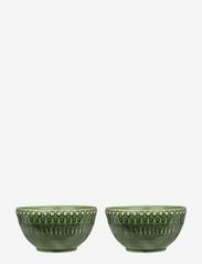 PotteryJo - DAISY Small Bowl 2-PACK - tarjoilukulhot - forest - 0