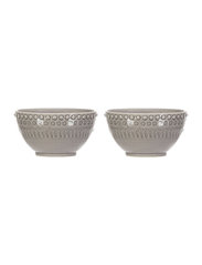 DAISY Small Bowl 2-PACK - SOFT GREY