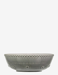 DAISY Large salad bowl - kulhot - soft grey
