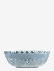 Daisy Saladsbowl 23 cm - salaattikulhot - dusty blue