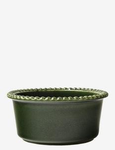 DARIA 18 cm bowl stoneware - aamiaiskulhot - moss
