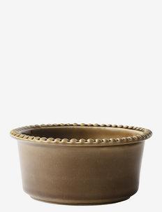 DARIA 18 cm bowl stoneware - serveringsskåler - umbra